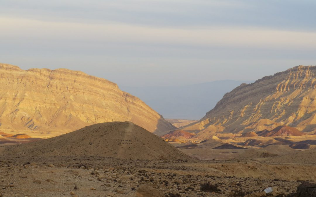 טרק דרומי: 26 ימים בשביל ישראל מסע חוצה מדבר יהודה ונגב, מערד לאילת 2-27 בנובמבר 2020